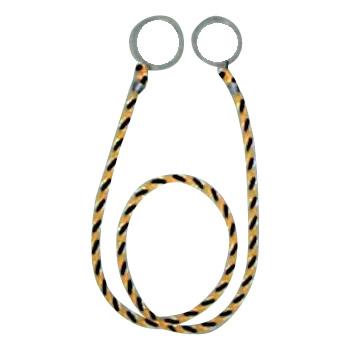 便利雑貨 カラーコーン用ロープ(標識) 10本入 約2m CC-30