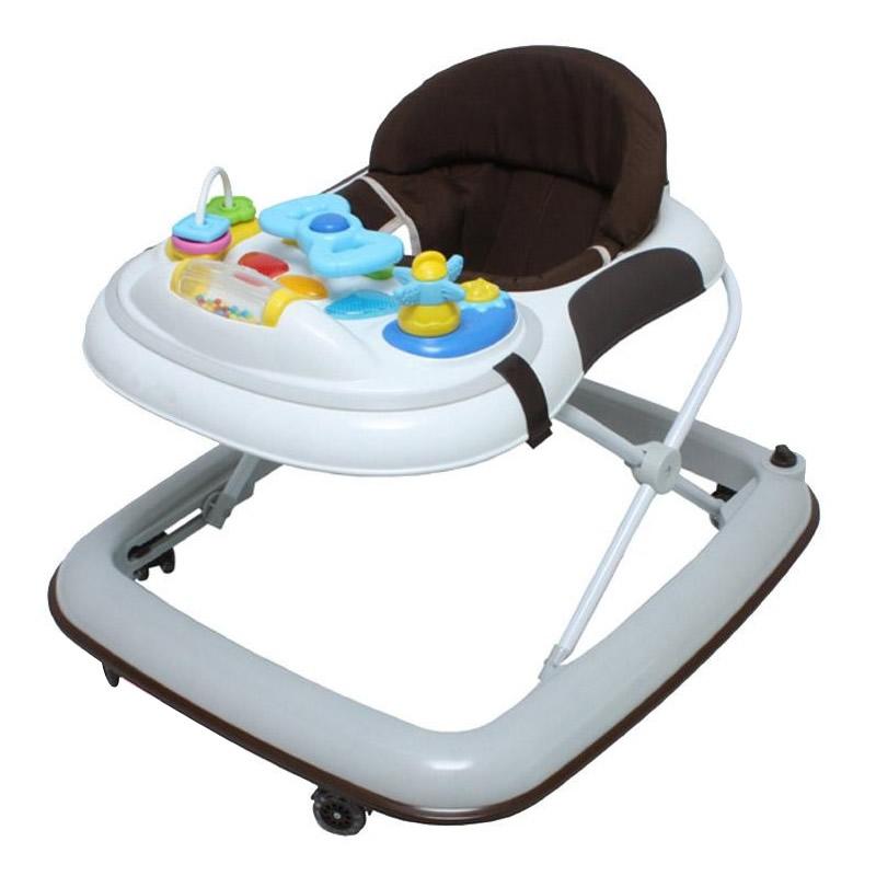 生活関連グッズ ベビー用品 ベビーウォーカー 赤ちゃんの成長に合わせて、5段階の高さに簡単に調節する事が可能