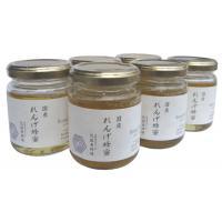 便利雑貨 近藤養蜂場 国産れんげ蜂蜜 140g×6個セット
