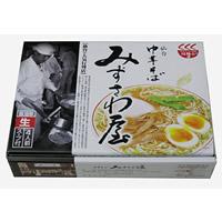 軽食品関連商品 銘店シリーズ 箱入仙台ラーメンみずさわ屋(4人前)×10箱セット