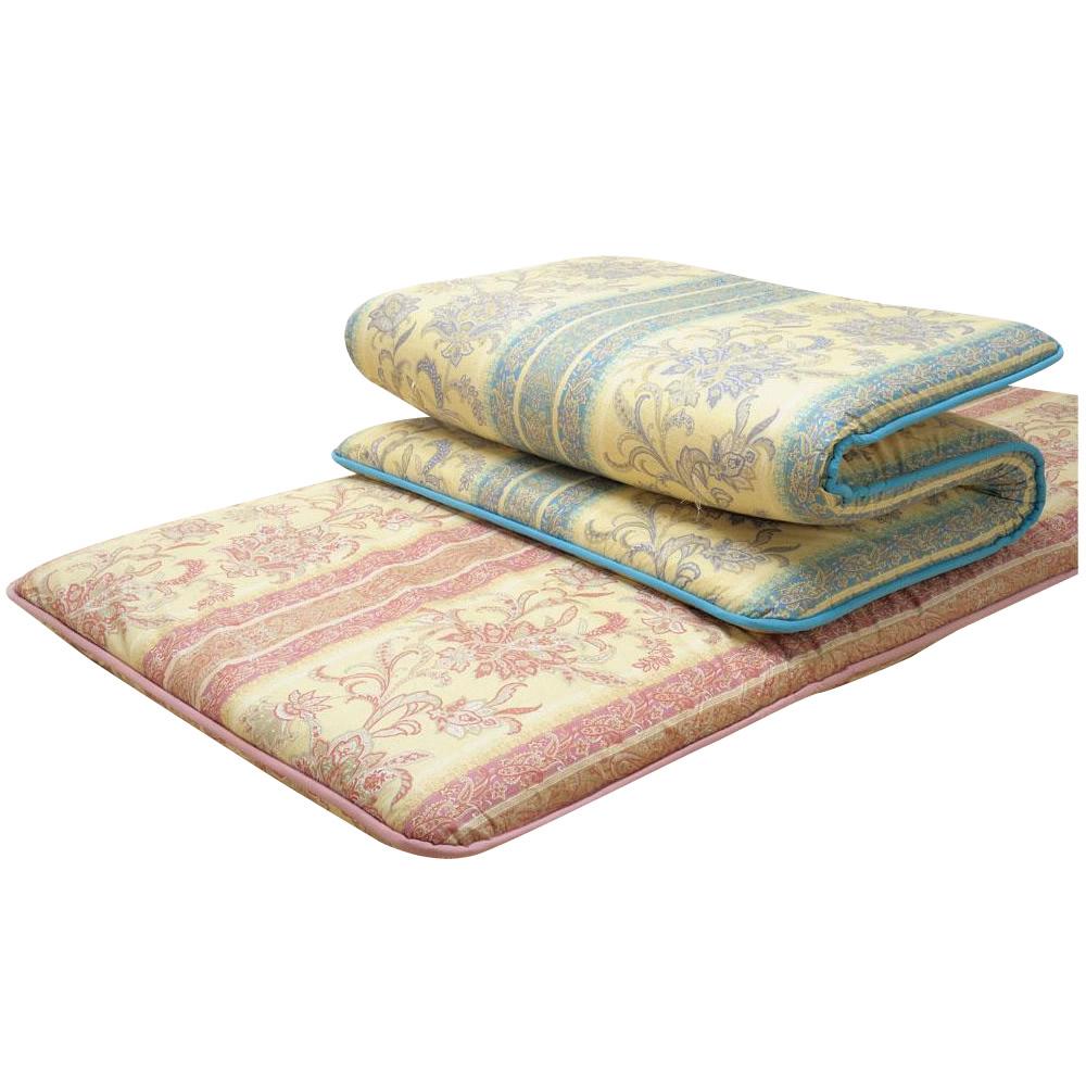 寝装 寝具 関連商品 ふっくら軽い敷きふとん シングル ドイルIVピンク系・25883人気 お得な送料無料 おすすめ 流行 生活 雑貨