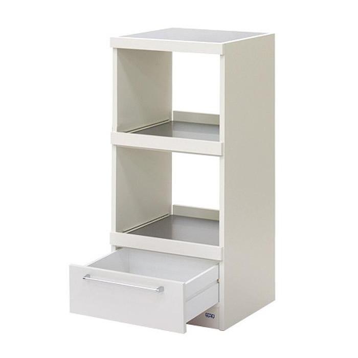 便利雑貨 キッチン収納 関連商品 レンジ台 スーパーホワイト WW-17