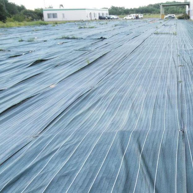 ガーデニング 花 植物 DIY 関連商品 通気性、透水性を兼ね備えた土木クロス 防草シート(厚さ0.5mm) 幅1.5m×50m巻