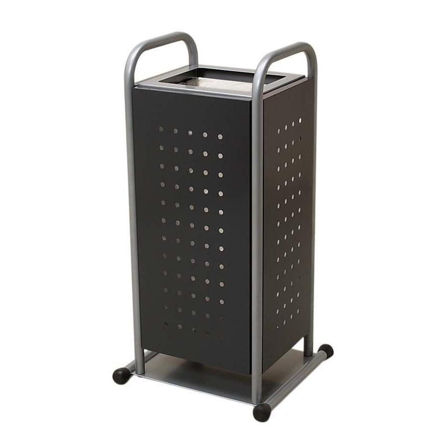 便利雑貨 玄関収納 関連商品 傘袋回収ボックス ダークグレー 238-4050