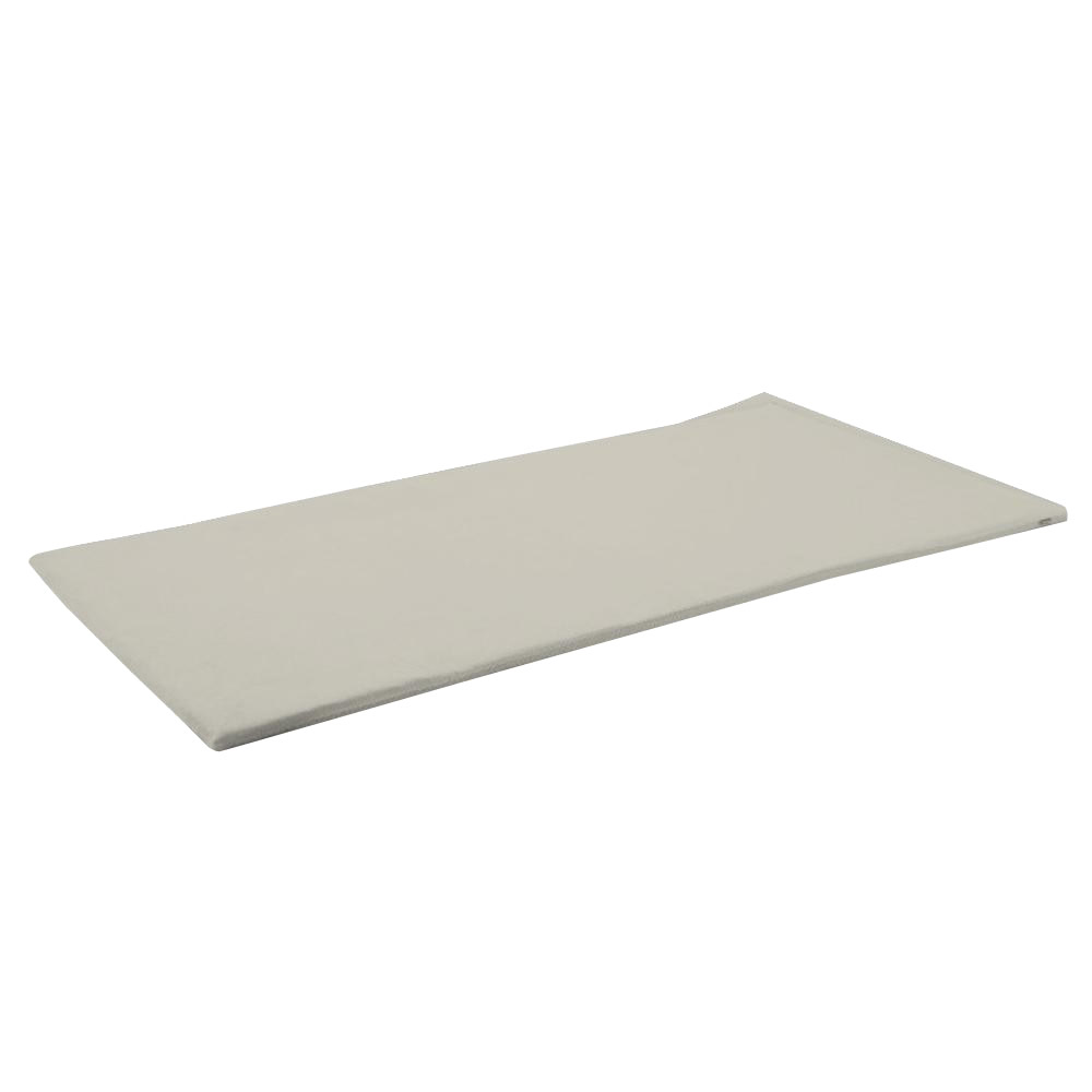 寝具関連商品 ファインエアー 380 シングル (約)100×200cm シルバーグレー