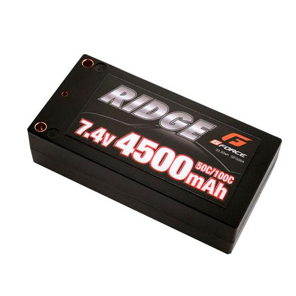 流行 生活 雑貨 G-FORCE ジーフォース RIDGE LiPo Battery 7.4V 4500mAh GFG004