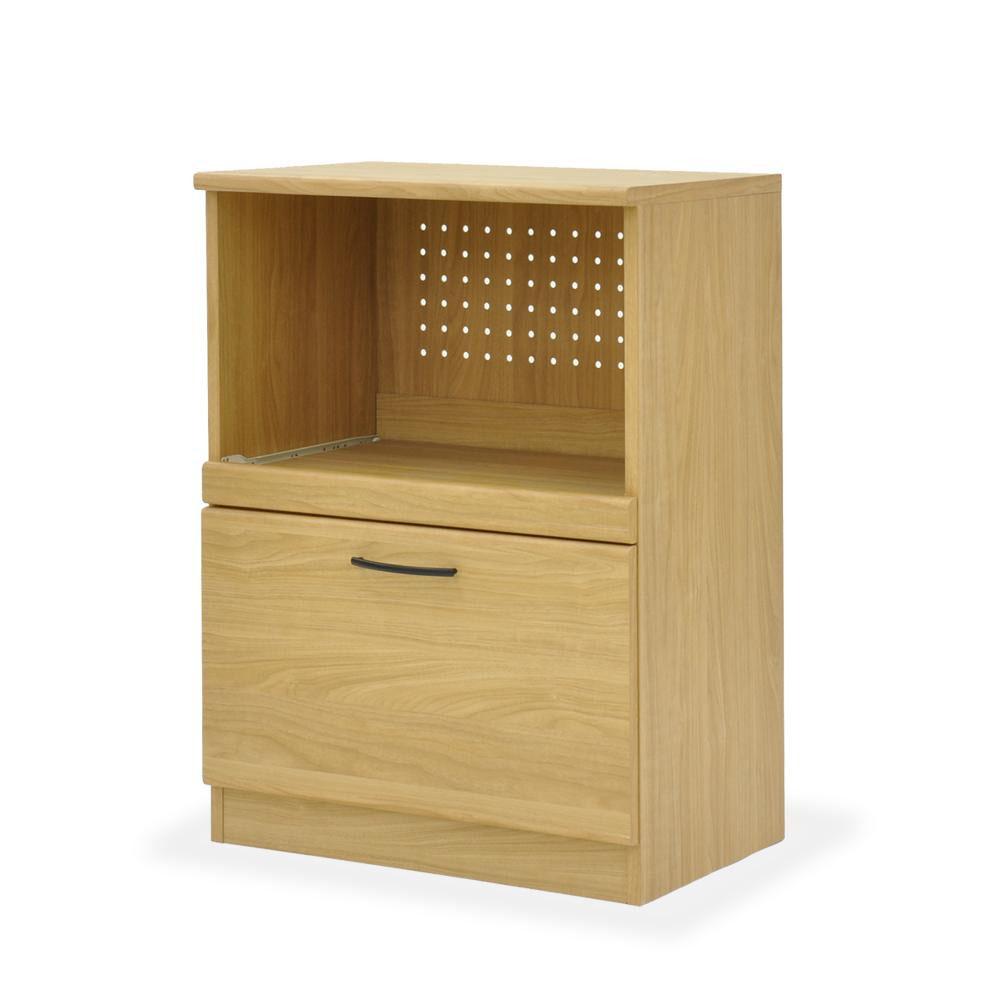 お役立ちグッズ キッチン収納 関連商品 レンジボード60 ABR-603RB ナチュラル