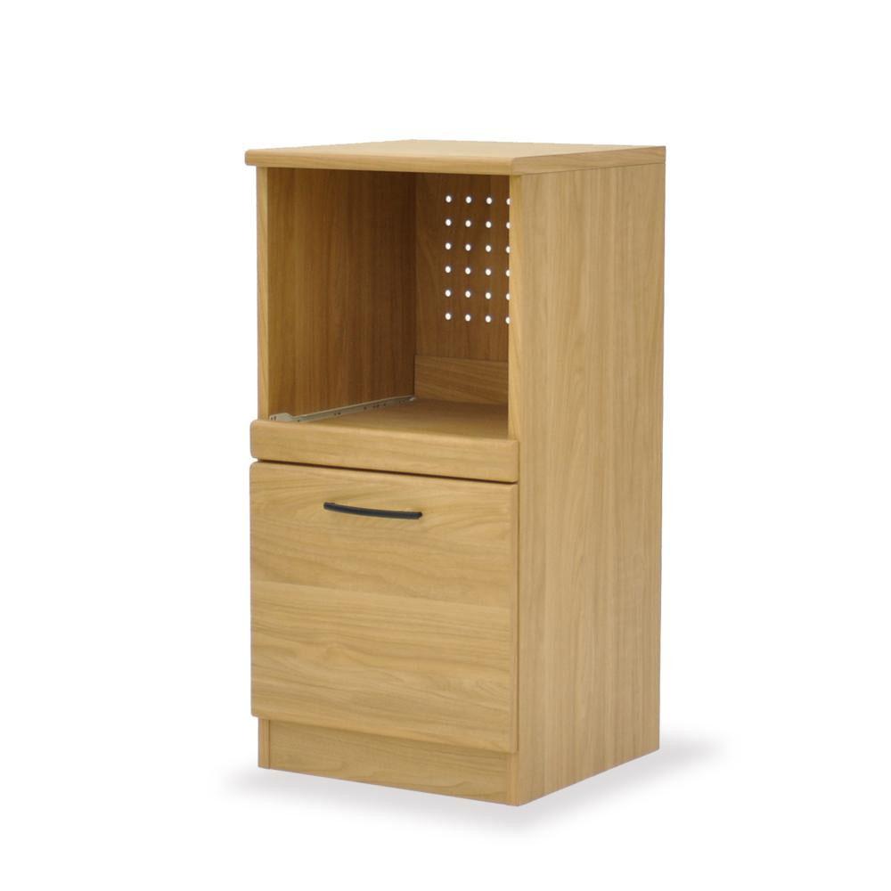 便利雑貨 キッチン収納 関連商品 レンジボード40 ABR-403RB ナチュラル