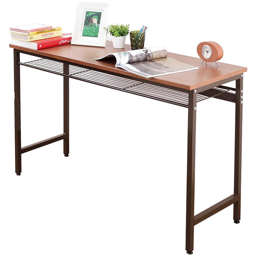 生活関連グッズ 家具 イス テーブル 関連商品 棚付スマートデスク ブラウン T5-TD120BR