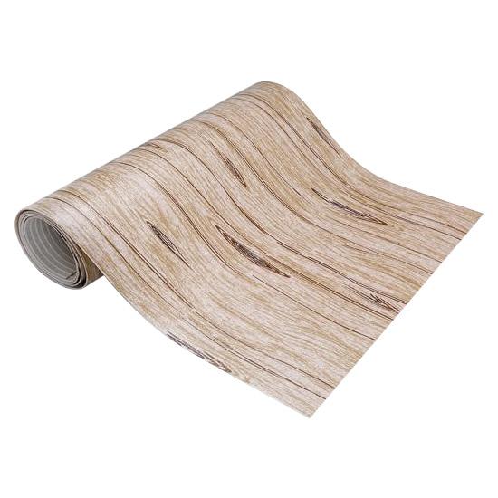 便利雑貨 台所用品 関連商品 拭けるキッチンマット ウッド調 60×240cm KN-59