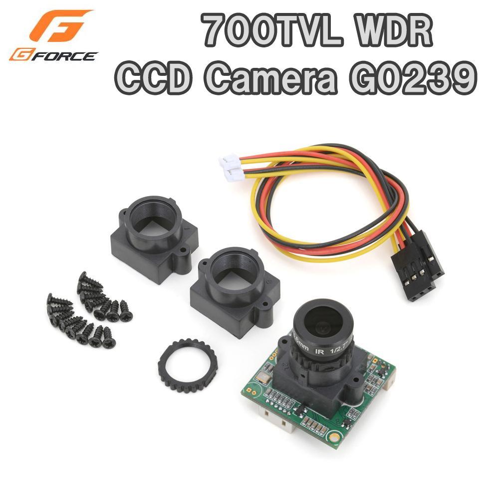 便利雑貨 G-FORCE ジーフォース 700TVL WDR CCD Camera G0239