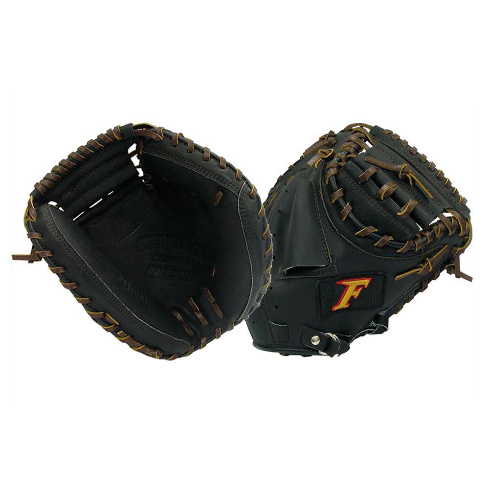 スポーツ・アウトドア関連商品 FALCON ファルコン 野球グラブ グローブ 軟式少年 捕手用 キャッチャーミット ブラック CM-4041