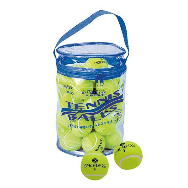 便利雑貨 スポーツ 関連商品 一般用硬式テニスボール 30球入 LB-30