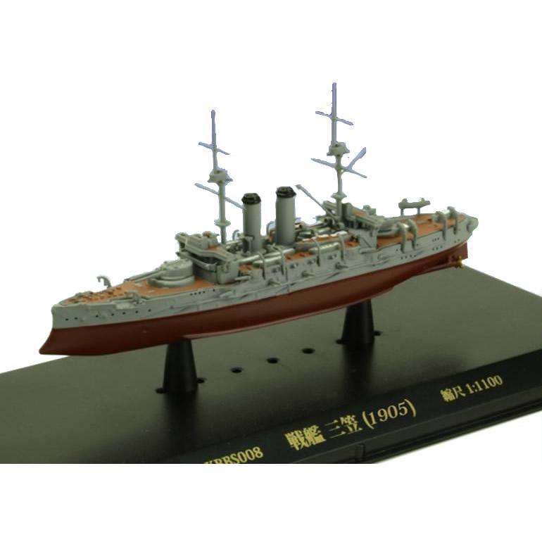 流行 生活 雑貨 玩具 関連商品 ミニチュアオブジェ 戦艦 三笠 (1905) 1/1100スケール KBBS008