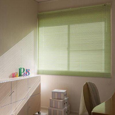 カーテン しなやかスラット採用のアルミ製ブラインド。 快適 人気 アルミブラインド規格品 ブラインダー 巾60×高さ200cm アイボリー