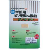 ガーデン用品 作業用品 便利 ジノテクト 水性防蟻・防虫・防腐剤(木部用) 14L 無色