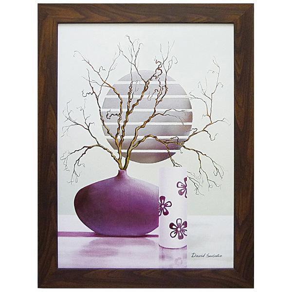 アートフレーム デビッド セダリア「パープル インスピレーション2」 DS-13012おすすめ 送料無料 誕生日 便利雑貨 日用品