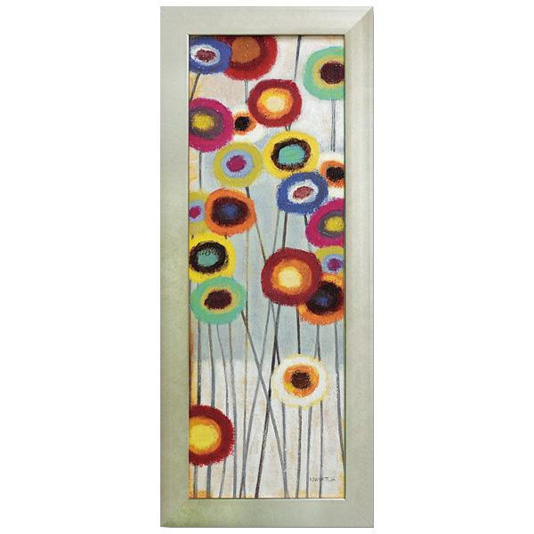 便利雑貨 アートフレーム ノーマン ワイアット ジュニア「ファン フローラル2」 NW-16002