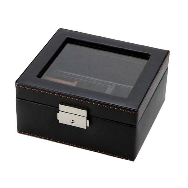便利雑貨 収納用品 関連商品 メンズボックスM 240-575BK□コレクションケース コレクション ホビー 関連