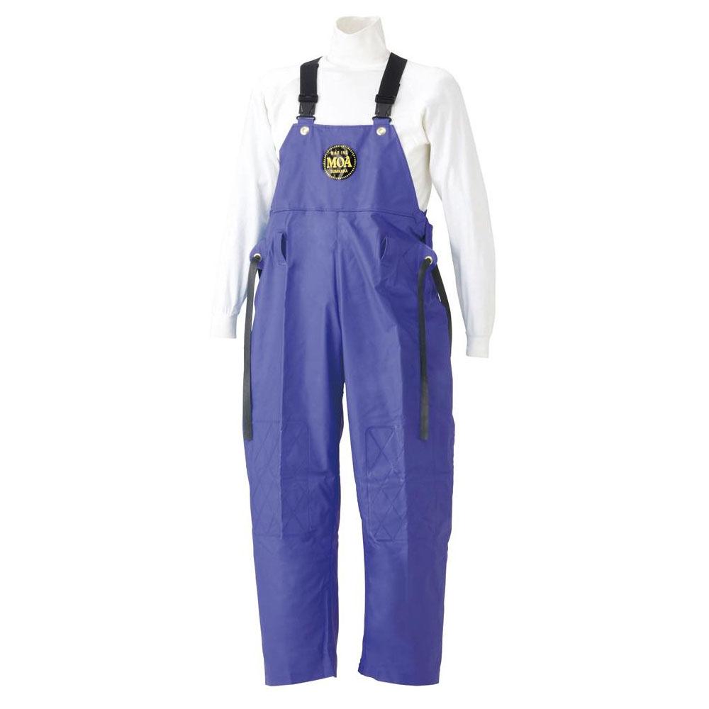 生活日用品 スミクラ マリン胸付ズボン G-229パープル LL