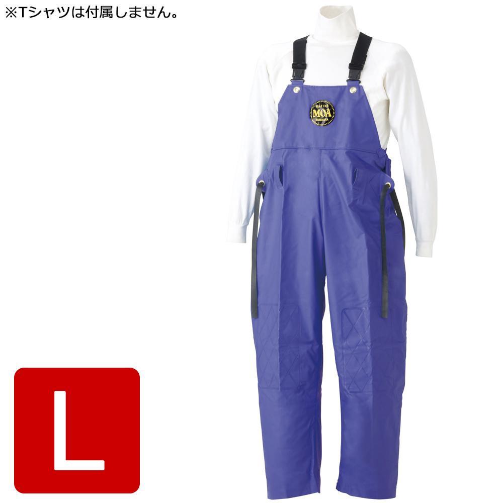 便利雑貨 マリン胸付ズボン G-229パープル L