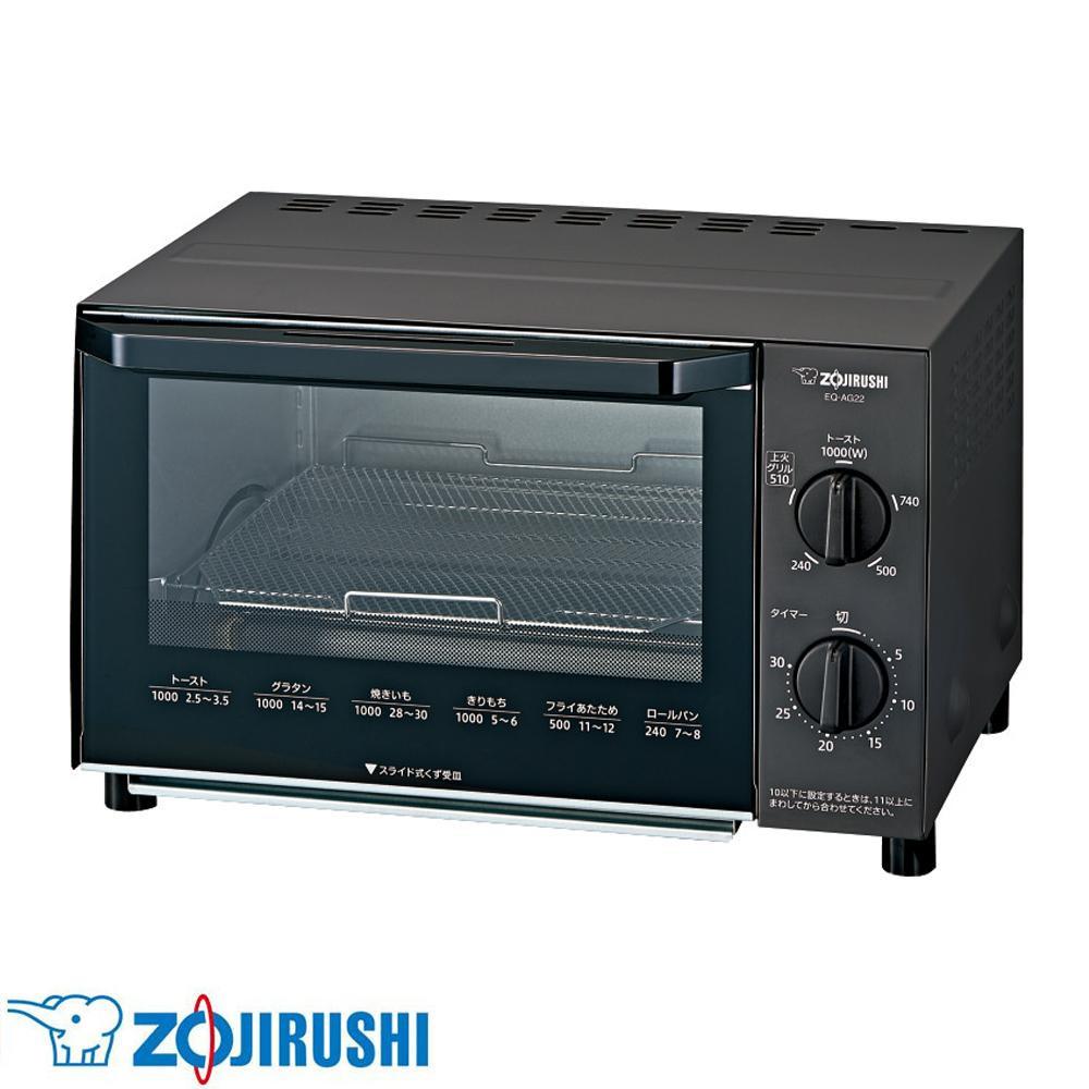 調理・キッチン家電関連 オーブントースター こんがり倶楽部 BA(ブラック) EQ-AG22-BA