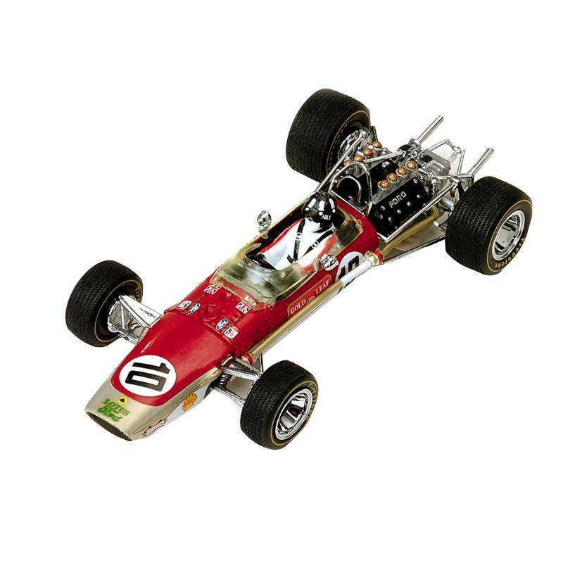 流行 生活 雑貨 ロータス 49 Spanish GP Winner ♯10 1/43スケール 27802 □車・バイク レーシングカー 関連商品