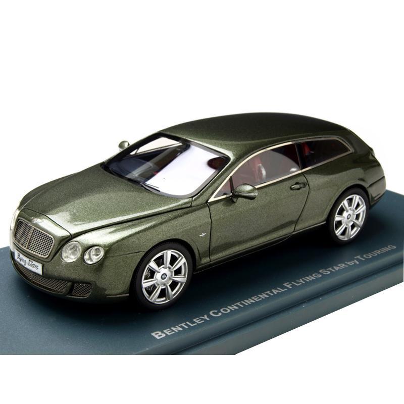 単三電池 1本 おまけ付きNEO ネオ ベントレー フライングスター グリーン 43スケール 本物を忠実に再現したモデルカー 2010 1 NEO44216 最新アイテム 国内正規品