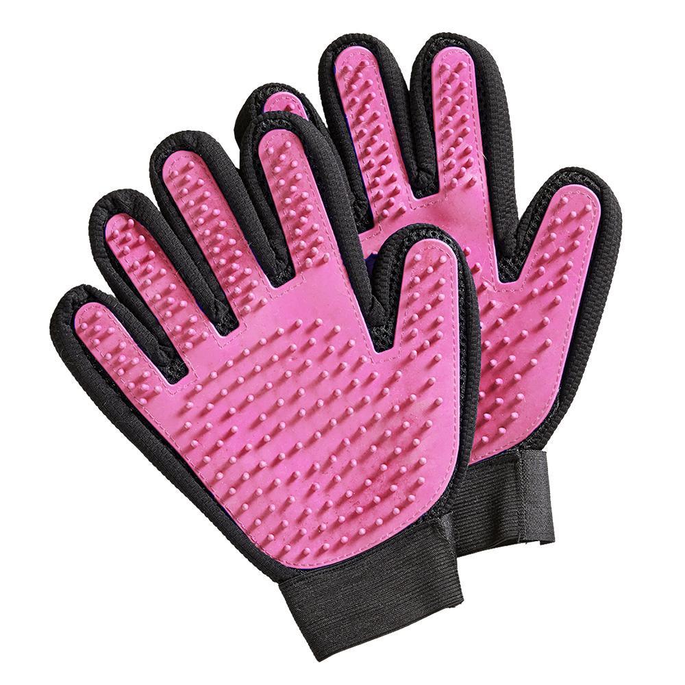 流行 生活 雑貨 ペットのブラッシンググローブ2枚組 ピンク □ペット用お手入れ用品 ブラシ 関連商品