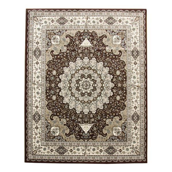トルコ製 ウィルトン織 ラグ カーペット 『ラフィット RUG』 ブラウン 約80×140cm 2329309人気 お得な送料無料 おすすめ 流行 生活 雑貨
