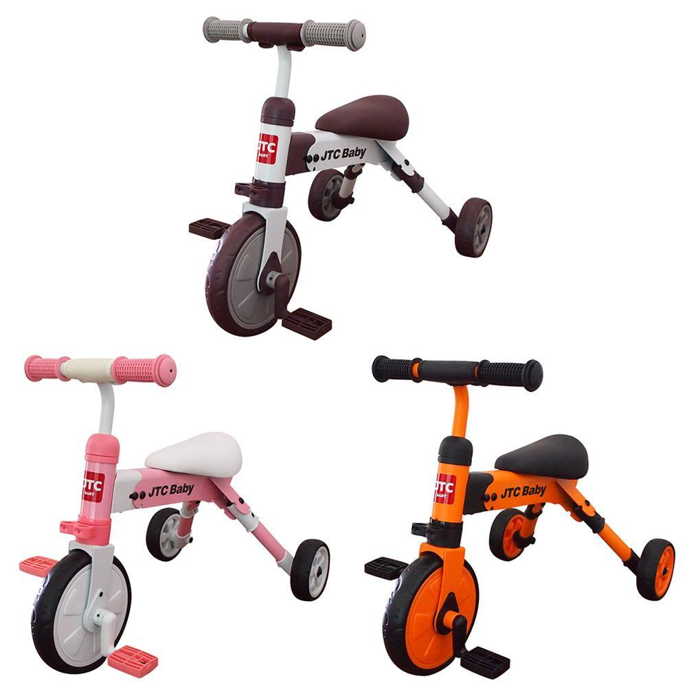 流行 生活 雑貨 JTC(ジェーティーシー) ベビー用品 折りたたみ三輪車 ポータブルトライク ブラウン・J-5187 □乗用玩具・三輪車 バランスバイク 関連商品