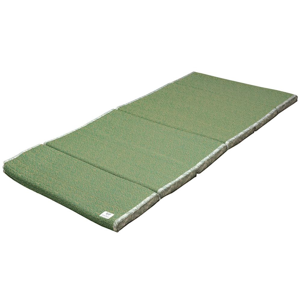 流行 生活 雑貨 い草6つ折りマットレス ボタリラグラス 約W80×D180×H4cm グリーン 81938620 □カーペット・ラグ 角型 関連商品