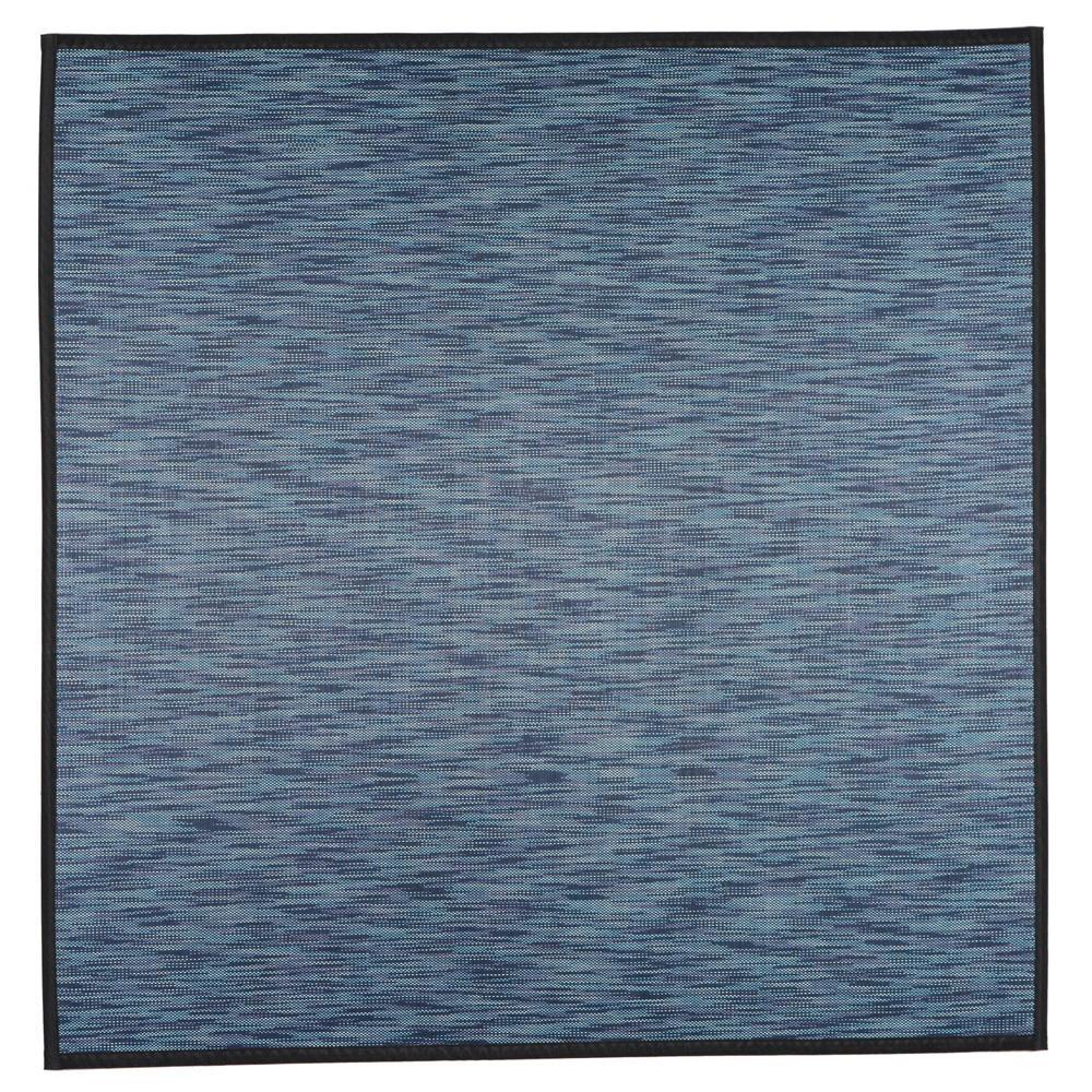 便利雑貨 竹ラグ 絣(かすり) 約180×180cm ネイビー 240606112 □カーペット・ラグ 角型 関連商品
