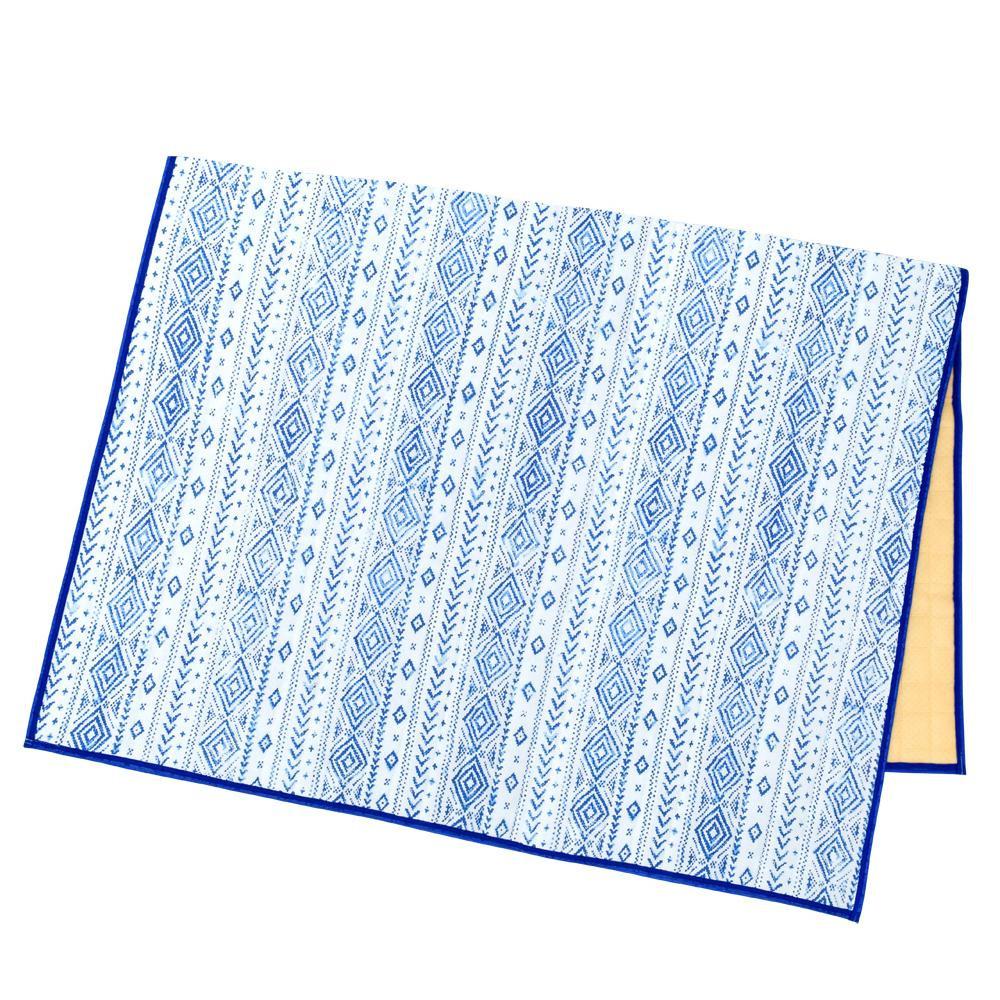 冷感キルトラグ ブラーネイティブ 14119875119お得 な全国一律 送料無料 日用品 便利 ユニーク