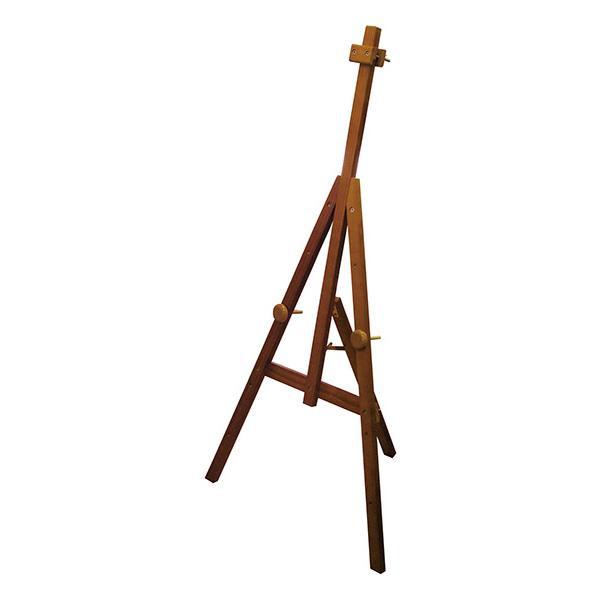 流行 生活 雑貨 Bイーゼル 7340 木製イーゼル X-1 ブラウン