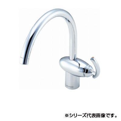 日用品 便利 ユニーク 三栄 SANEI THE PINEAPPLE ROOM シングルワンホール混合栓 寒冷地用 K8741JK-13