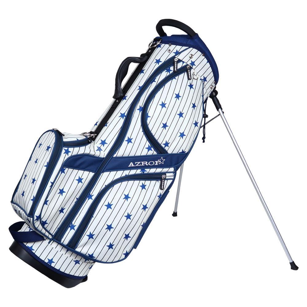 【洗顔用泡立てネット 付き】キャディバッグ 関連 大型グリップハンドル使用でバッグの持ち運びが楽々  スポーツ 関連 スタンドキャディバッグ ビーエススター 172