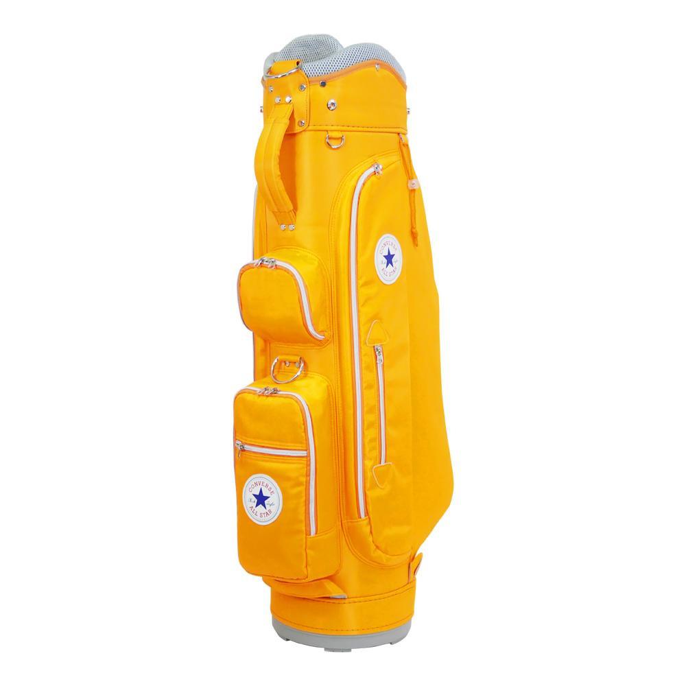 日用品 便利 ユニーク PARIS LAFILLE レディースクラブセット+CONVERSE キャディバッグ オレンジ