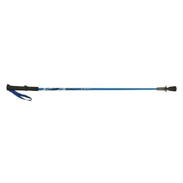 トレンド 雑貨 おしゃれ 日本製 カーボン 固定式トレッキングポール 2本組 RUN18-1403 (112cm) ブルー