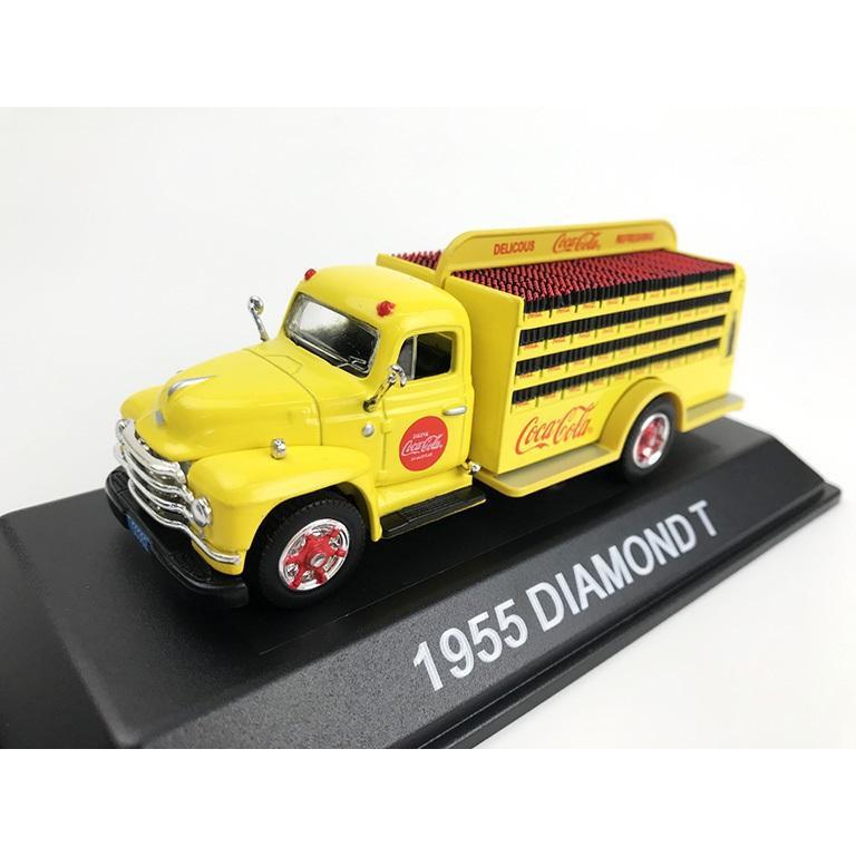 流行 生活 雑貨 モデルカー ダイアモンド T ボトル デリバリー トラック 1955 1/50スケール 450055