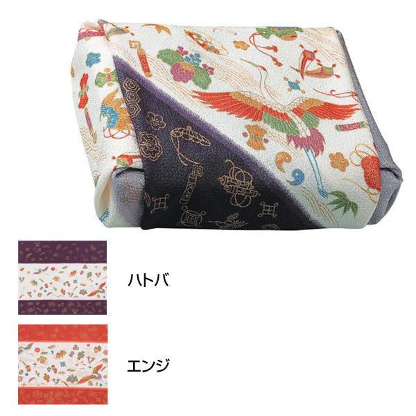 流行 生活 雑貨 ふろしき 絹90cm幅 吉祥宝づくし エンジ・11-0028-22