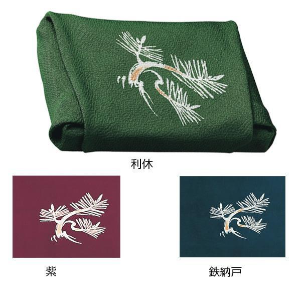 流行 生活 雑貨 ふろしき 絹105cm幅 根引松 鉄納戸・11-0001-90