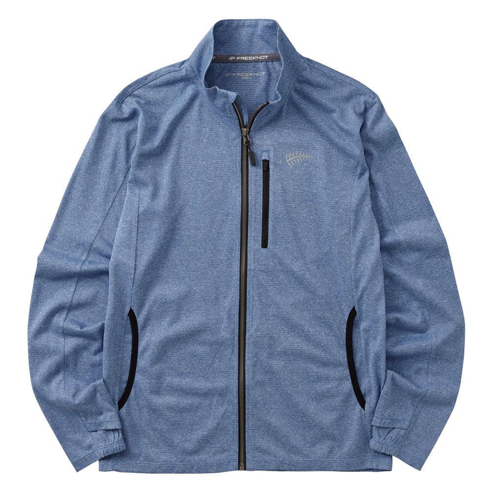 ジップアップジャケット ブルー Y1440-LL-70お得 な全国一律 送料無料 日用品 便利 ユニーク