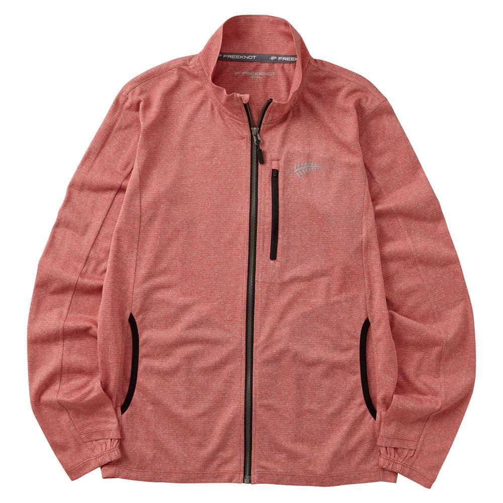 ジップアップジャケット レッド Y1440-L-40