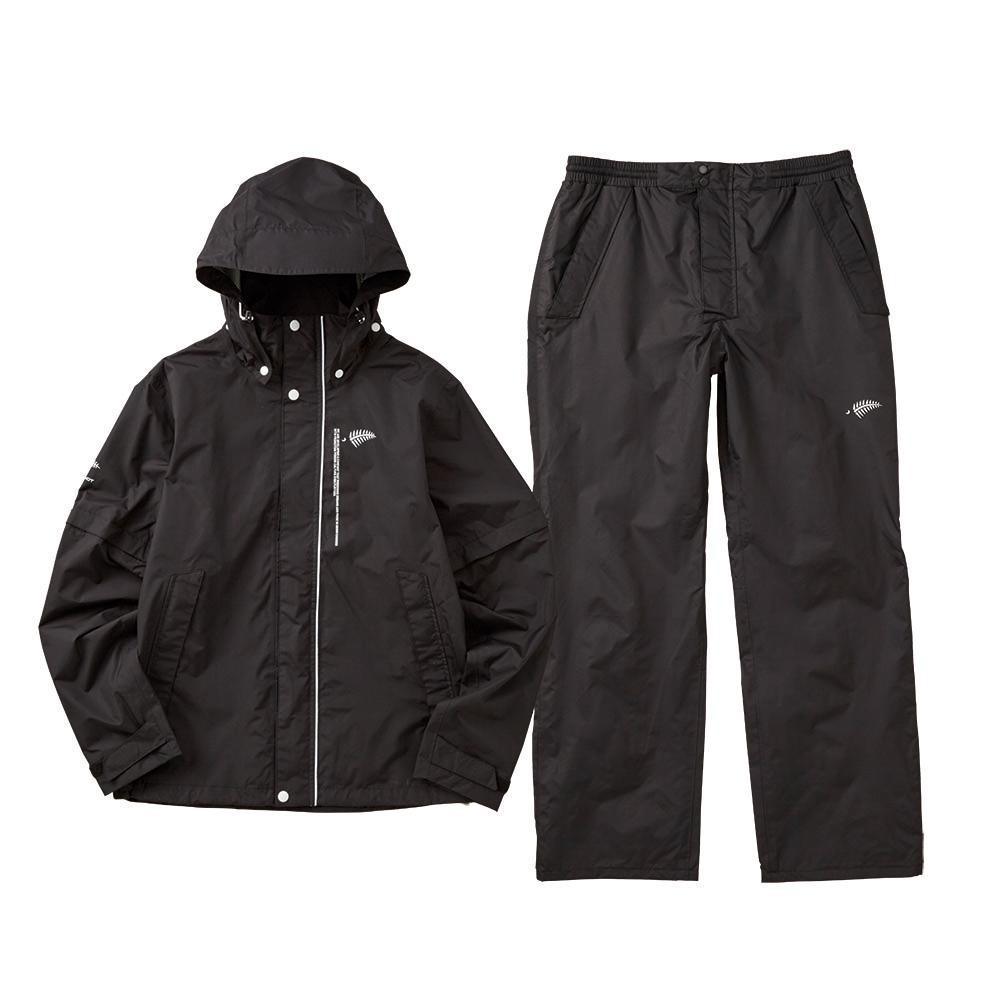 流行 生活 雑貨 レインスーツ ブラック Y6217-L-90