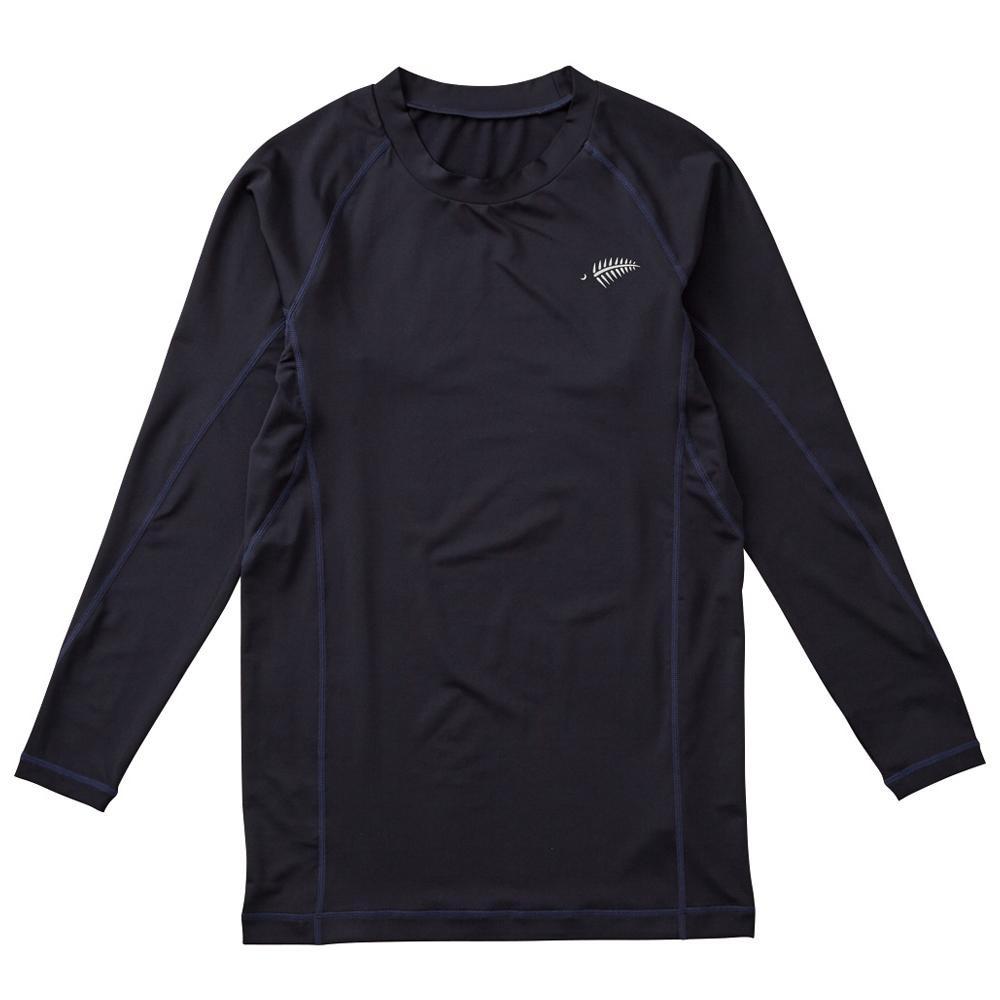 フィッシング ウェア 関連 UVレイヤードアンダーシャツ ネイビー Y1637-M-80