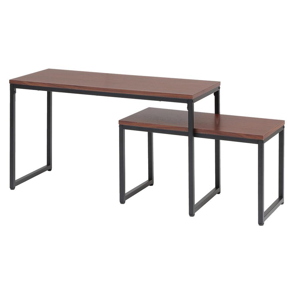 テーブル ネストテーブル 関連 anthem Nest Table 大小セット ANT-3194BR