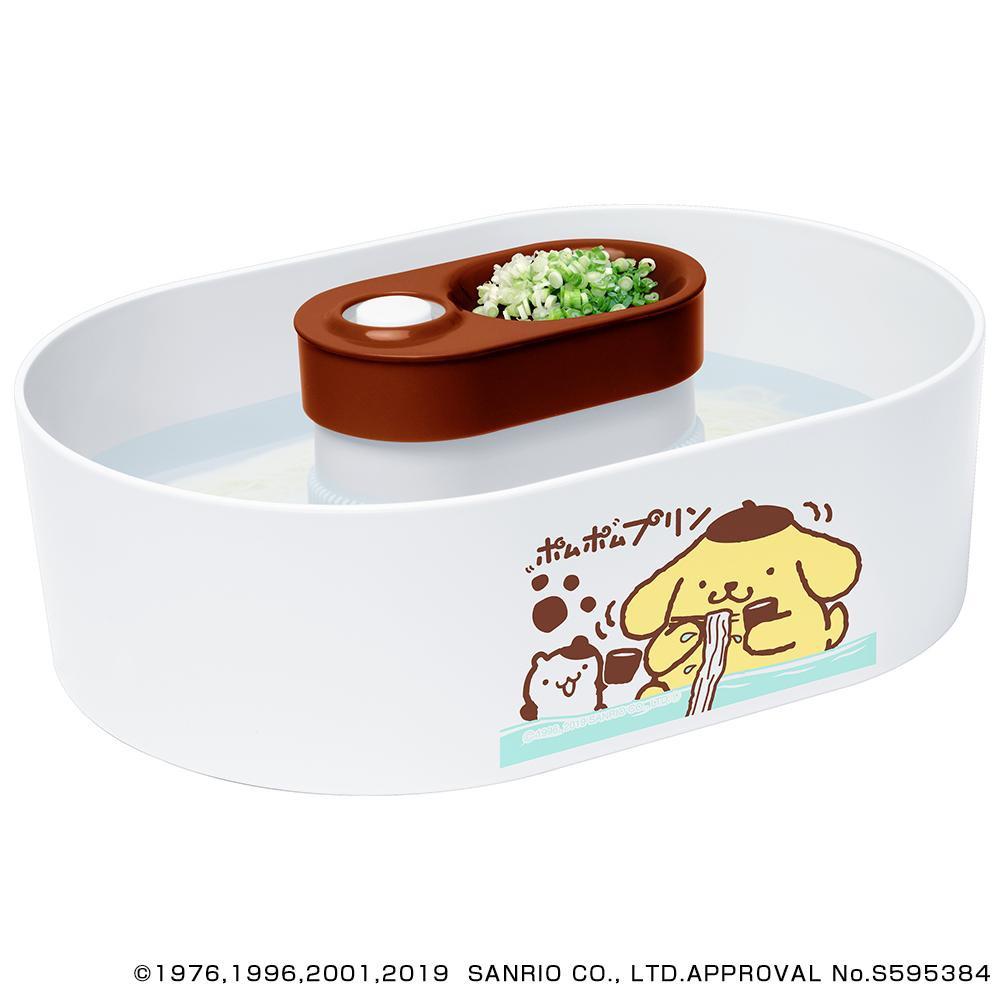 流行 生活 雑貨 サンリオキャラクターズ 流しそうめん器 全自動タイプ(つゆ鉢1個付き) ポムポムプリン