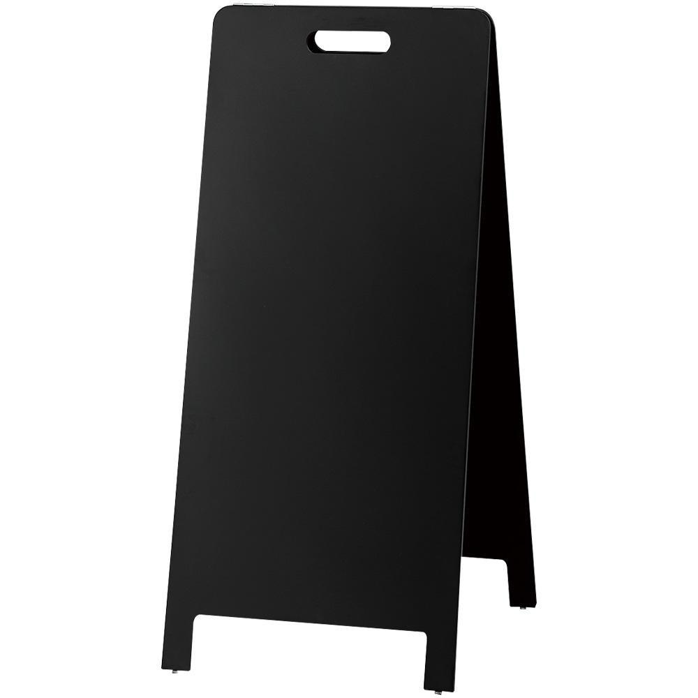 【洗顔用泡立てネット 付き】黒板 関連 チョークとマーカーが使えるスタンド黒板  文具 関連 ハンド式スタンド黒板(マーカ・チョーク兼用) HTBD-104