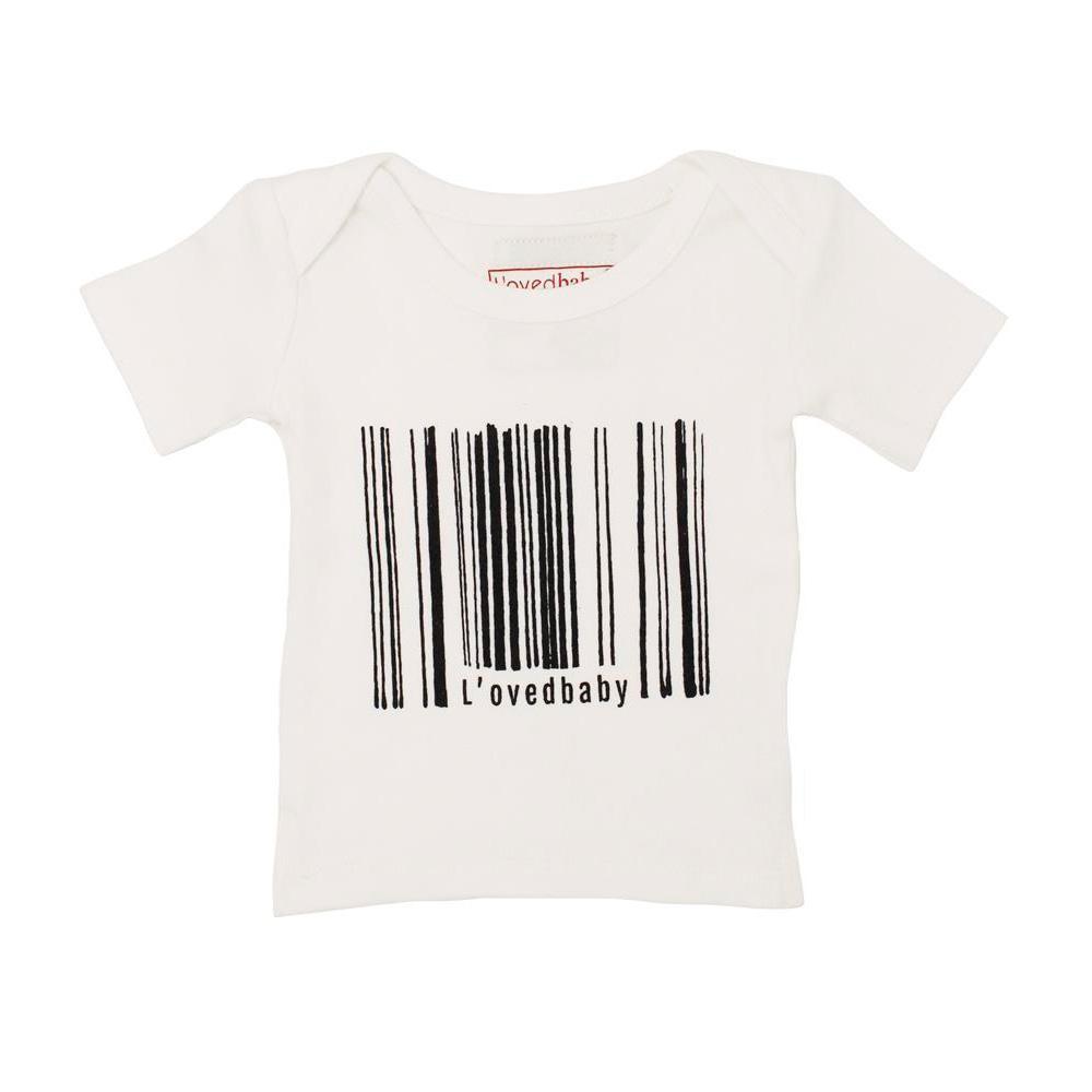 流行 生活 雑貨 ショート スリーブ Tシャツ sg-305 ホワイト・9~12ヵ月
